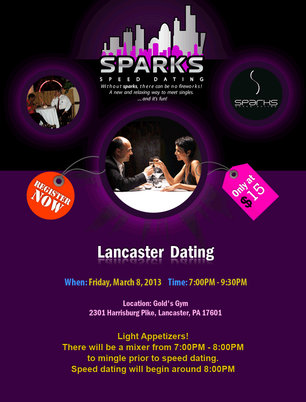 what is speed dating online